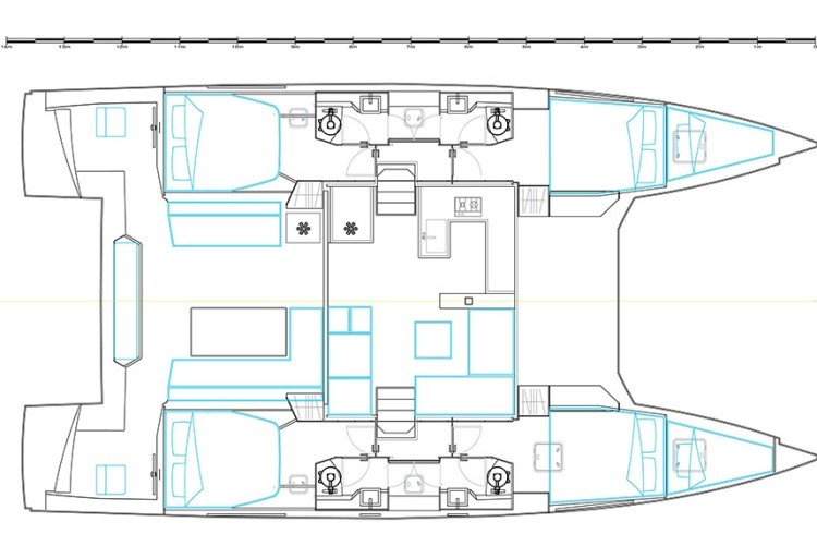 nautitech 46 open layout