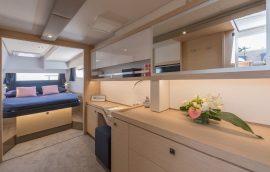 Master cabin on sailing catamaran Saona 47