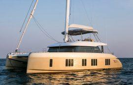 Sunreef 50 sailing in Croatia