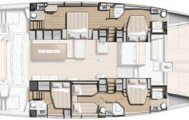 Cabin layout of bali 5.4