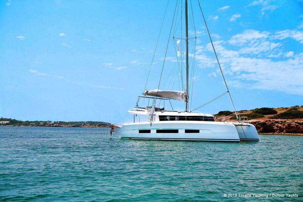 dufour-48-catamaran-rental