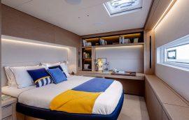 Master cabin of Lagoon 65