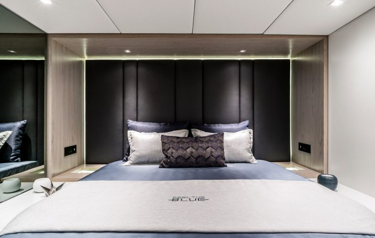 VIP cabin for guests on Sunreef 60