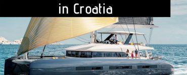 best catamarans for rent at adriatic sea