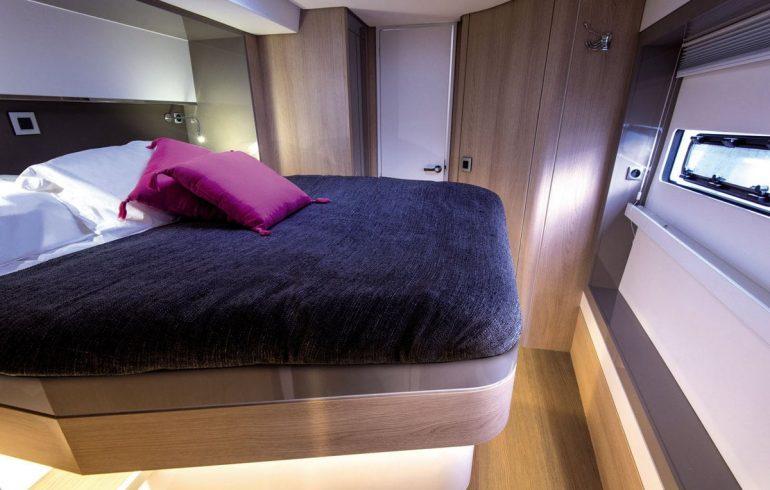 Master cabin on bali 5.4 yacht