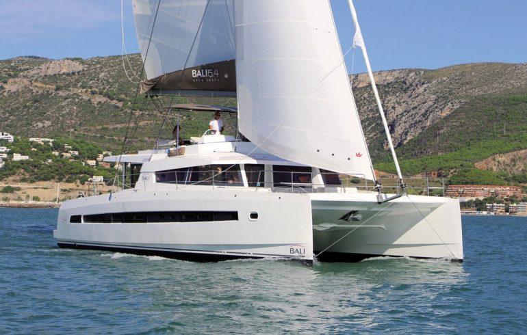 Catamaran bali 5.4 near Croatian coast